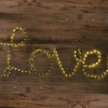 Make Your Own Fairy Light Sign