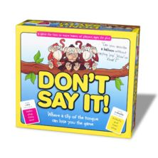 Don't Say It Kids Game