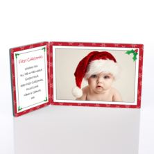 First Christmas Photo Message Plaque