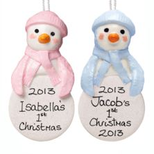 Baby's First Christmas Penguin Hanging Tree Ornament