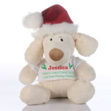 Personalised 1st Christmas Puppy
