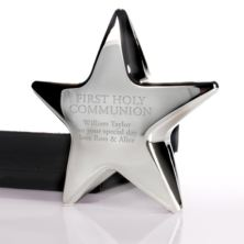 Personalised First Holy Communion Star Paperweight