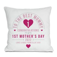 Personalised First Mother's Day Cushion