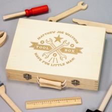 Personalised Children's Wooden Tool Kit