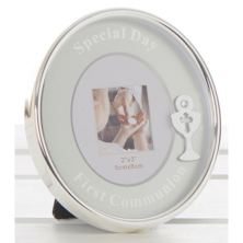 1st Communion Oval Photo Frame
