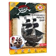 Blackbeard's Pirate Ship 3D Puzzle