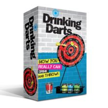Drinking Dart Board Set