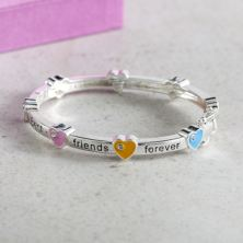 Best Friends Forever Childrens Bracelet With Personalised Box