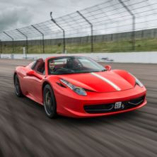 Four Supercar Thrill with Free High Speed Passenger Ride - Special Offer