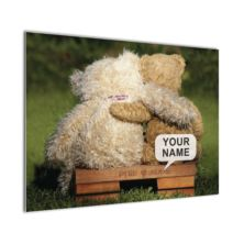 Personalised Poster Teddy Bear Design -
