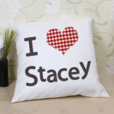 Valentine's Day Gift - I Love..... Cushion