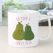 Personalised We Make A Great Pear Mug