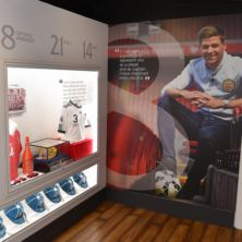Liverpool FC Stadium Tour and The Steven Gerrard Collection for Two