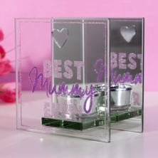 Best Mummy Ever Glass T-Lite Holder