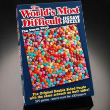 World's Most Difficult Jigsaw Puzzle - The Sweet Shop
