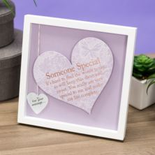 Someone Special Sentiment Heart Art Frame