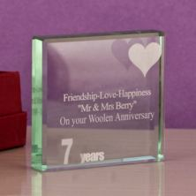 7th (Wool) Anniversary Keepsake