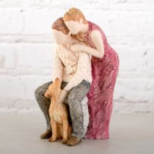 Loyal Companion Figurine - Man's Best Friend