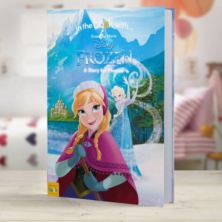Personalised Disney Frozen Adventure Book - Large Hardback