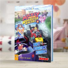 Personalised Disney Mickey and the Roadster Racers Book