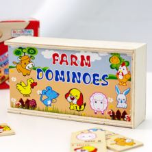 Farm Wooden Dominoes
