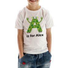 Personalised Children's Alphabet Monster T-Shirt