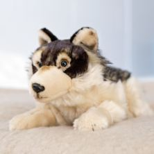 Living Nature Wolf Soft Toy