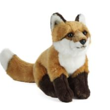 Living Nature Large Fox Soft Toy