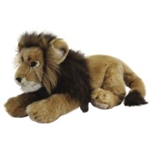 Living Nature Male Lion Soft Toy