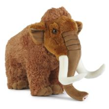 Living Nature Woolly Mammoth Extra Large Soft Toy