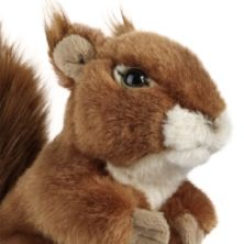 Living Nature Squirrel Soft Toy