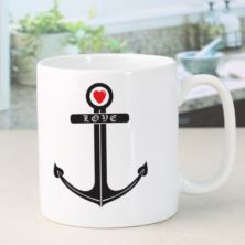 Love Anchor Personalised Mug