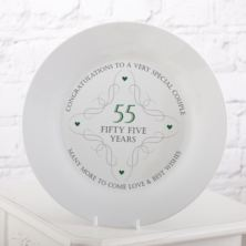 55th Anniversary Plate