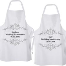 Personalised Anniversary Aprons