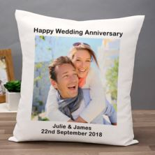 Personalised Photo Anniversary Cushion
