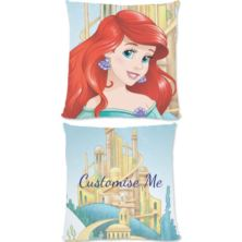 Personalised Disney Princess Ariel Large Cushion