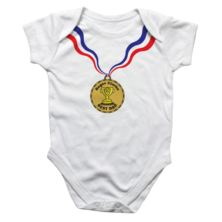 Personalised Medal Baby Grow