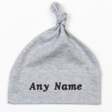 Personalised Embroidered Baby Knot Hat