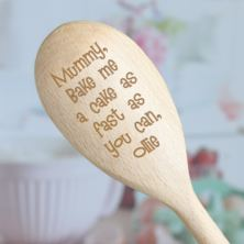 Bake Me A Cake Personalised Wooden Spoon