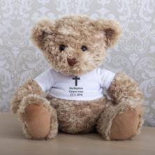 Personalised Baptism Teddy Bear