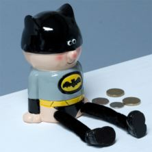Super Hero Money Box - Batman Style