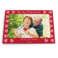 Be My Valentine Personalised Photo Jigsaw