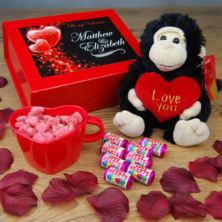 Be My Valentine Personalised Gift Box
