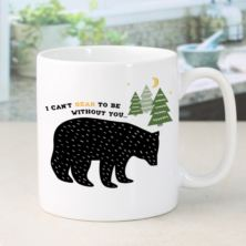 Personalised I Can't Bear To Be Without You Mug