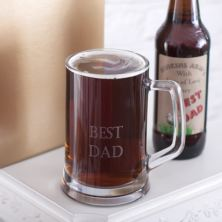 Personalised Black Sheep Ale and Engraved Tankard Set