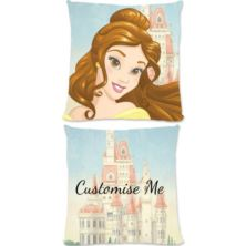 Personalised Disney Princess Belle Large Cushion