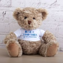 Personalised Best Brother Teddy Bear