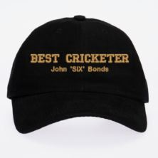 Personalised Embroidered Cricket Cap