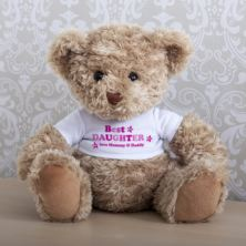Personalised Best Daughter Teddy Bear