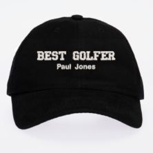 Personalised Embroidered Golfer Cap